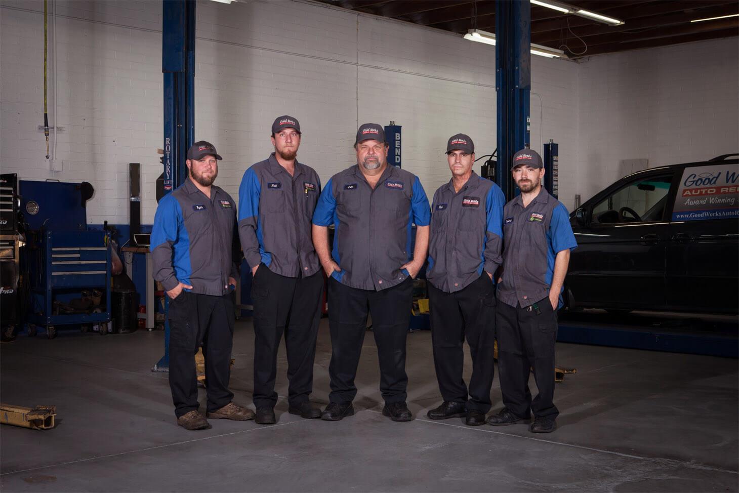 Auto repair technicians