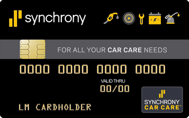 Synchrony Car Care payment plans
