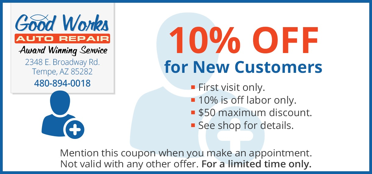 10 percent off coupon for new customers
