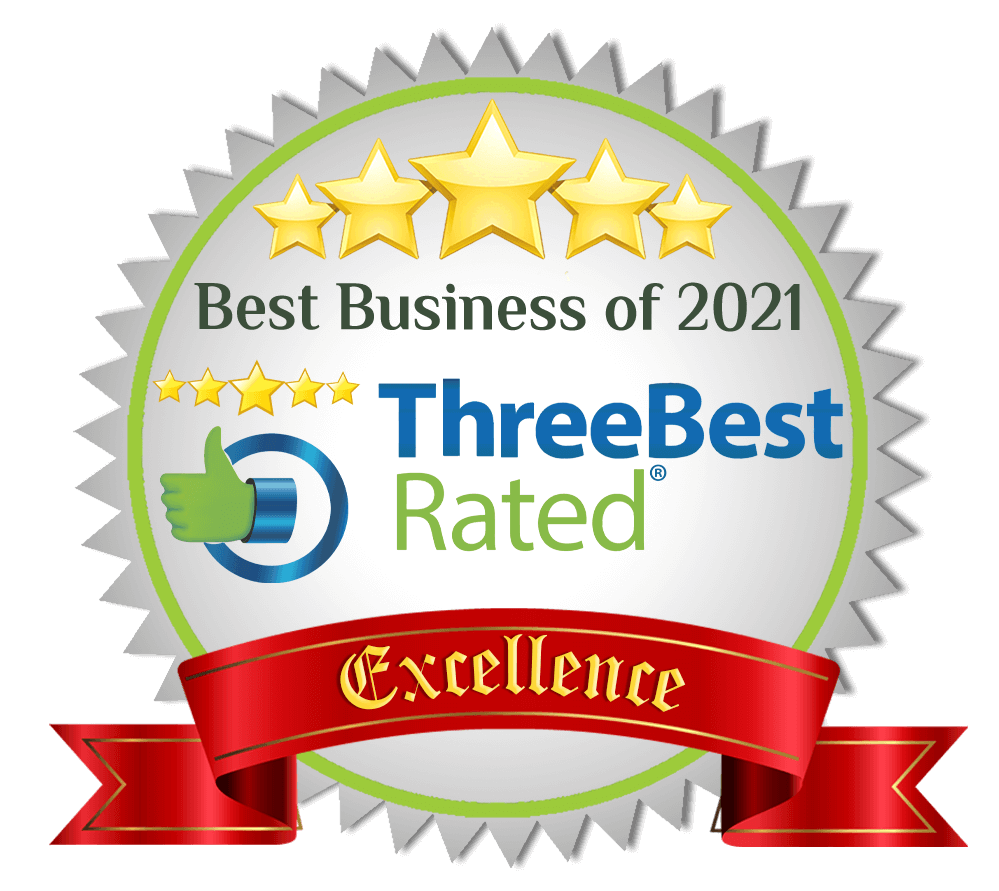 Best Business of 2021 ThreeBest Rated