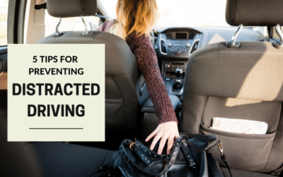 5 Tips For Preventing Distracted Driving