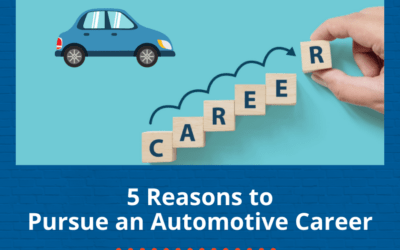 5 Reasons to Pursue an Automotive Career